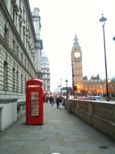 Big Ben and a Telephone Box, could you get any more iconic?