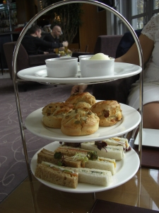 Tea Time at the Four Seasons Canary Wharf