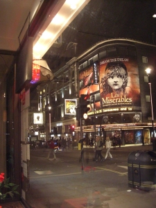 Les Mis at the Queen's Theater
