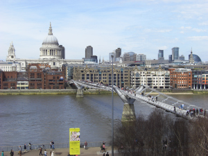 The View of St. Paul's and the Thames from the Tate Modern